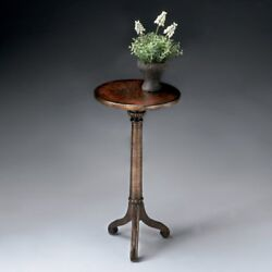 Butler Brown and Gold Plant Stand