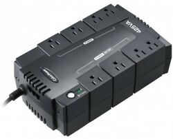 8 Outlet UPS Battery Backup Computer Uninterruptible Power Supply Surge Protect $65.01