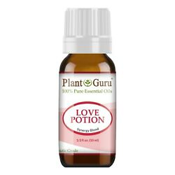 Love Potion Essential Oil Aphrodisiac Blend 10 ml 100% Pure For Women Perfume
