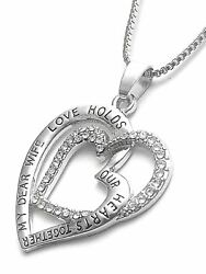 Personalized Necklace For Wife Gift Birthday Anniversary Necklace MDW $18.99