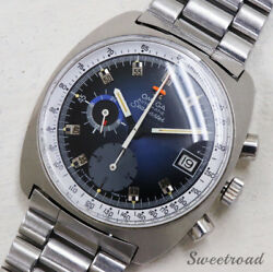 Omega Seamaster Chronograph Ref.176.007 Date Automatic Auth Men's Watch Working