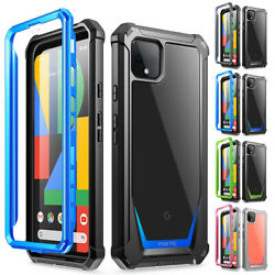 Poetic Shockproof Case For For Google Pixel 4 XL33 XL Cover w Screen Protector $9.84