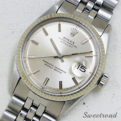 Rolex Oyster Perpetual Datejust Ref.1601 Cal.1570 Automatic Men's Watch Works