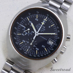 Omega Seamaster Professional 176.002 Chronograph Automatic Auth Mens Watch Works