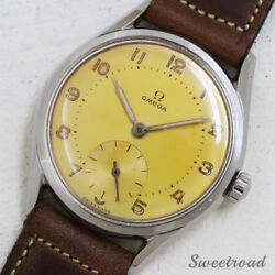 Omega 30mm Caliber 325433 Cal.266 1954 Manual Hand Wind Auth Men's Watch Works