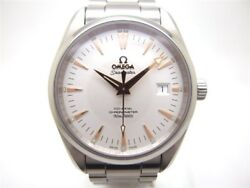 Omega Seamaster 2503.34 Aqua Terra Co-axial SS Automatic Authe Men's Watch Works