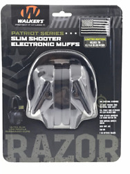WALKERS GWP RSEMPAT PATRIOT SERIES SLIM SHOOTER ELECTRONIC MUFFS $55.00