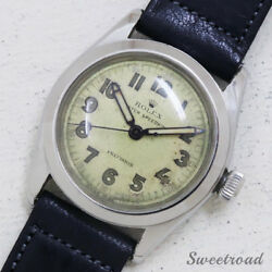 Rolex Oyster Speedking 4220 Cal.710 1940s Manual Hand Wind Auth Mens Watch Works