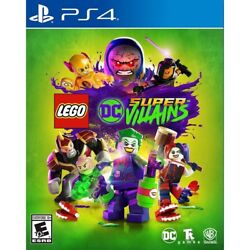 Lego DC Super Villains (Playstation 4 PS4) Brand New Factory Sealed