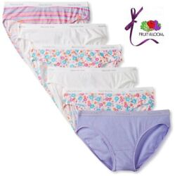 Fruit of The Loom Women's Cotton Hipster Panties 6-Pack $12.90