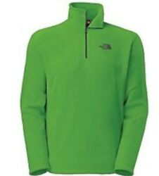 NWT The North Face Men's TKA100 14zip Fleece Pullover Jacket size M
