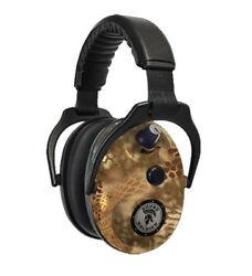 DUAL EARMUFFS 27DB KRYPTEK HIGHLANDER ENHANCED SOUND ACTIVATED COMPRESSION