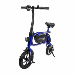 Refurbished Swagtron 200W Steel Frame Folding Electric Bicycle Swagcycle Envy $229.99
