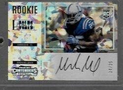2017 Contenders Sideways Variation Cracked Ice Marlon Mack Auto Rc # to 24 25 $249.95