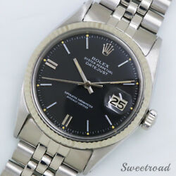 Rolex Datejust Ref.1601 Cal.1570 Used Automatic Authentic Men's Watch Works