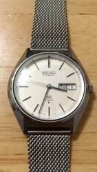Seiko Grand Seiko 5646-7010 Hi-Beat Day Date Automatic Authentic Mens Watch Work