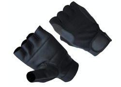 Aamp;H Apparel Mens Premium Genuine Lamb Fingerless Leather Driving Gloves $9.99