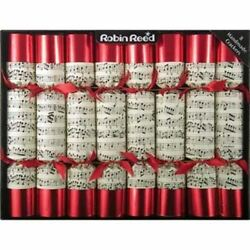 Robin Reed Classic Musical Concerto English Party Crackers Whistles Inside 8 Pcs