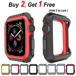 Replacement Silicone Case Band for Apple Watch Series 3 2 1 38mm 42mm B23