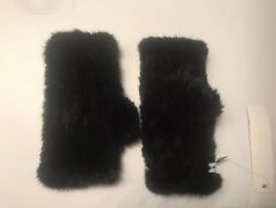 Fur Fingerless Gloves The Cashmere Project