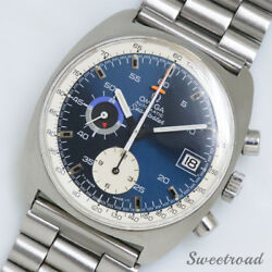 Omega Seamaster Ref.176.007 Chronograph Automatic Authentic Men's Watch Works