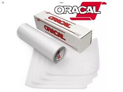 Oracal Clear Vinyl Transfer Tape Roll Grided Backer Zero Residue 10 Ft Roll