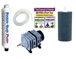 Boogie Brew Kit 3lbs TEA PLUS FILTER 45L Air Pump Stone amp; Tubing $142.95
