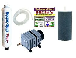Boogie Brew Kit 6lbs TEA 45L Air Pump PLUS FILTER Air Stone amp; Tubing $159.45