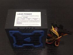 Brand NEW Lead Power 650w MAX BLUE ATX Power Supply 204Pin SATA amp; PCIe $26.99