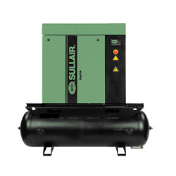 Sullair ShopTek ST410R 5-HP 80-Gallon Rotary Screw Air Compressor (20823046...