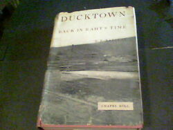 Ducktown back in Raht's time by R.E. Barclay signed by author  e9