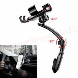 1x Metal Gravity Connecting Rod Type Car Air Vent Mount GPS Phone Hold $21.75