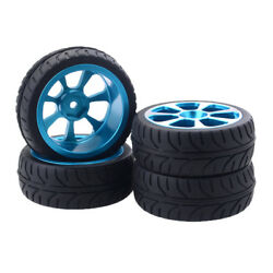 4pc RC Wheel Rim Tire Tyres for 1 10 HSP ZD Racing HPI Redcat B $20.71