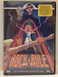 Rock And Rule (DVD 2005 Single Disc Version) FACTORY SEALED