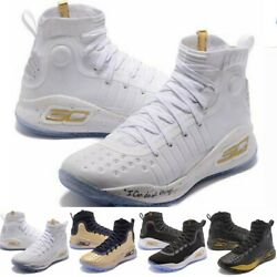 High Quality Curry 4 Kids Stephen Basketball Sports Shoes Youth Sneakers Shoes