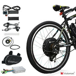 26quot; Electric Bike Rear Wheel Bicycle Conversion Kit Hub Motor Cycling 48V 1000W $273.99