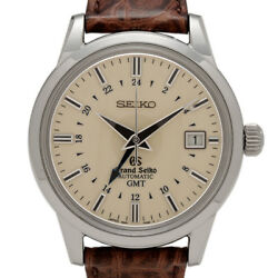 Seiko Grand Seiko SBGM003 9S56-00B0 GMT Automatic Authentic Men's Watch Works