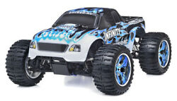 Exceed RC 1 10 2.4G Radio Infinitive RC Nitro Gas Car RTR Monster 4WD Truck Blue $283.50