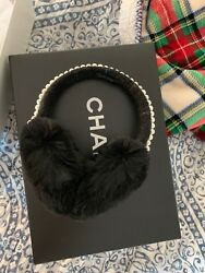 CHANEL Authentic Purse Earmuffs Jewerly Limited Edition