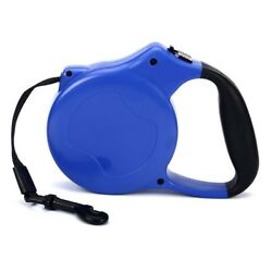 Retractable Dog Leash Up to 55 lbs. and 16#x27; Rope Lead $7.99
