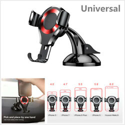 360° Rotating Gravity Car Phone Mount Holder Cradle For iPhone X Samsung  Galaxy