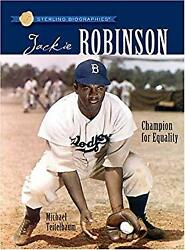 Jackie Robinson : Champion for Equality Paperback Michael Teitelbaum $4.49