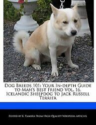 Dog Breeds 101 : Your in-depth Guide to Man's Best Friend Vol. 16 Icelandic She