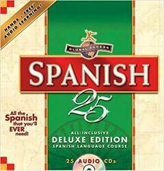 Global Access Spanish 25 by Penton Overseas (Deluxe 25 CDs) w travel case