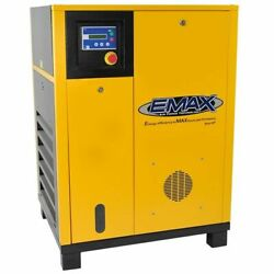 EMAX 20-HP Rotary Screw Air Compressor (460V 3-Phase)