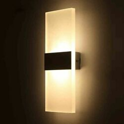 Bedroom Wall Lamps Modern Led Light Bulb Living Room Warm Night Lighting Elegant $24.69