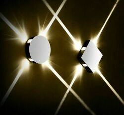 Led Night Wall Lamps Modern Style Light Bulb Home Indoor Decor Lighting Elegant $46.79
