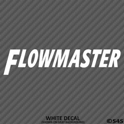 Flowmaster Exhaust Performance Racing Vinyl Decal - Choose ColorSize