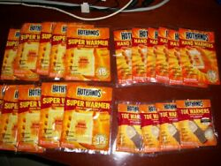 HotHands SUPER Hand regular and toe and Body Warmers
