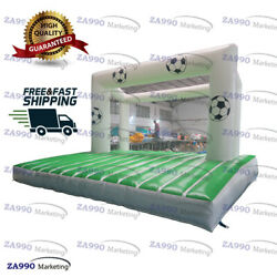 16x13ft Inflatable Football Toss Bounce Soccer Shooting Goal With Air Blower $1985.00